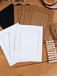 6 pouces style rétro photo de papier de tenture cadre 10in1 avec clip et de la corde (2 ensemble)