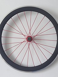 AURORA RACING 700c Road 50mm Carbon Clincher Road Bike Wheels with Alloy Brake