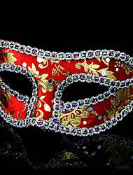 Halloween masque de partie de costume mystérieuse (de couleurs assorties)