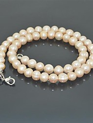 Toonykelly®Fashionabe Neatural Real Pearl Necklace(1 Pc)