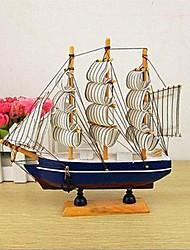 """7.87 """"h mobiliário doméstico criativo veleiro colecionável"""