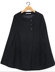 tutti i match colore solido mantello di tweed