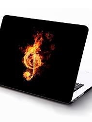 música en el diseño de fuego de cuerpo completo estuche protector de plástico para el de 11 pulgadas / 13 pulgadas El nuevo iPad