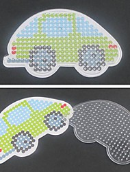 1PCS Template Clear Pegboard Colorful 13cm Car for 5mm Hama Beads Perler Beads Fuse Beads
