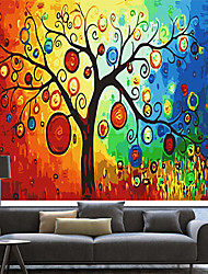 Artistic Colorful Dreamlike Tree Roller Shade
