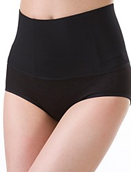 Women's Fashion Pure Color Tall Waist Postpartum Shaping Panties