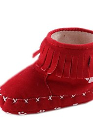 Baby Shoes Informale Cotone Stivali Rosso