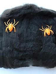 créatifs Tricky Drôle jouets araignée webs pour Halloween (couleur aléatoire)
