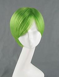 BLAZBLUE Hazama Green Short Cosplay Wig