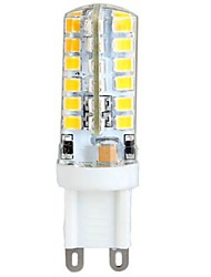 Ywxlight® 3w g9 led luces de maíz 53mm * 16mm t48 smd2835 300 lm blanco cálido ac 100-240 v