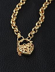 novo ouro venda de moda 18k de unisex banhado cadeia