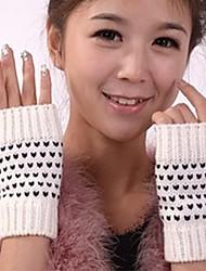 personalità della moda brevi caldo piccolo punto di guanti mezzi della barretta delle donne