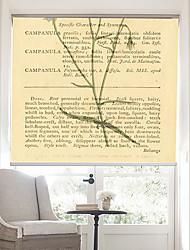 página retro palabras con la flor azul persiana fondo
