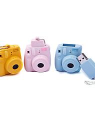 8GB Cartoon Camera Mini8 USB Flash Drive (Yellow,Blue,Pink)