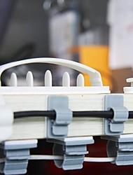 adhésif double-face en plastique collecteur de fil dévidoir (3 tailles 10 pcs)