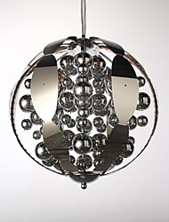 Globe LED Chrome Metal Chandeliers / Pendant Lights Bedroom / Bathroom / Kids Room / Game Room