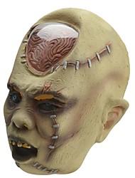 SYVIO cabeza del fantasma de la ampolla de látex de alto grado de halloween máscara del slip-on