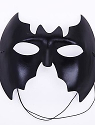 masque noir de partie batman pvc Halloween