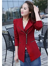 Women's Fashion Long Sleeve Slim Blazer