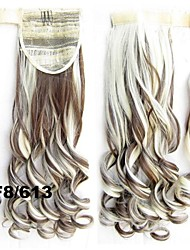 Clip-in Hair Extension Synthetic Wavy Hair Pieces