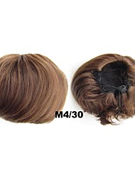 Beautiful Generous Clip In Hair Wrap Synthetic Hair Pieces