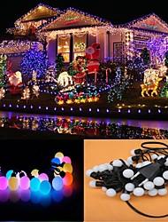 10M 100-LED RGB Light LED Ball Shaped Christmas Light Decoration String Light (110V)