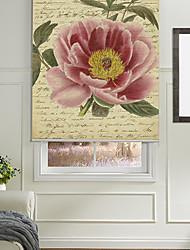 página retro palabras con el flor de la peonía persiana fondo