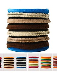 Fashion Warm Scarf Sleeve Head Warm Scarf Coral Fleece Scarf (Random Color)