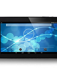 9 pulgadas Android 4.4 Tableta (Quad Core 800*480 512MB + 8GB)