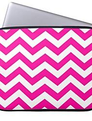 elonbo el patrón de onda 13 '', funda protectora de neopreno para laptop MacBook Pro / aire dell hp acer