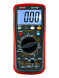 UA78D+ Digital Multimeter with LED Backlight AC DC Voltage Current Resistance Capacitance 10 MΩ Manual Range