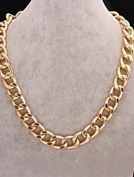 collar de cadena de 15 mm de los hombres