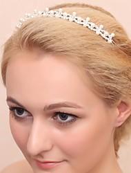 Women's/Flower Girl's Alloy/Imitation Pearl/Cubic Zirconia Headpiece - Wedding/Special Occasion Tiaras