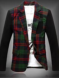 Mens Korean Style Three Dimensional Suit Blazer