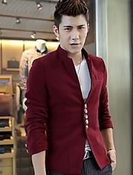 Men'sChinese Tunic Suit Collar Coat Outerwear
