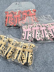 Cat / Dog Socks & Boots / Clothes/Clothing Red / Pink / Gold Spring/Fall Waterproof / Wedding / Leopard / Cosplay
