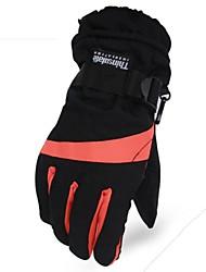 Outdoor Men's Riding Glove Fashion Wear-resisting Ski Warm Gloves