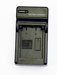câmera carregador de bateria para olympus li-10b / li-12b / dbl10