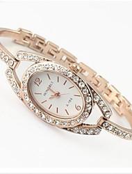 Mulheres Relógio de Moda Lega Banda Relógio de Pulso