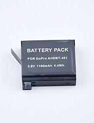 New 1160mAh Battery for Gopro Hero 4 Hero4 AHDBT-401 Battery