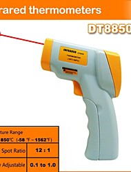 DT8850 industrial infrared thermometer non-contact infrared thermometer(-50℃~850℃/-58℉~1562℉)