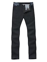 b&q pantalon des hommes occasionnels