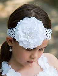 Polyester Flower Girl Kids' Flower Headpiece