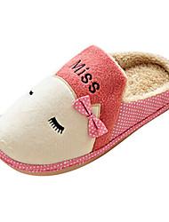 pattini delle donne di conforto tacco piatto ciabatte finto camoscio scarpe più colori disponibili