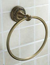 Towel Ring,Antique Brass Color Aluminium Material,Bathroom Accessory