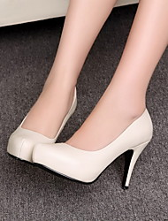Women's Stiletto Heel Round Toe Pomps/Heels Shoes (More Colors)