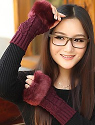 Women Knitwear Gloves , Cute