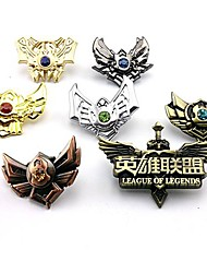 Jewelry / Badge Inspired by LOL Cosplay Anime/ Video Games Cosplay Accessories Badge Silver Alloy Male / Female