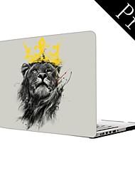 "King Lion Design Full-Body Protective Plastic Case for MacBook Pro 13""/15"" (Non-Retina)"