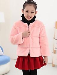 casaco de pele imitar menina